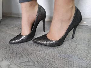 Cipele ženske 38,FORMENTINI ,srebrene