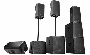 ElectroVoice ELX200 serija aktivnih i pasivnih kutija