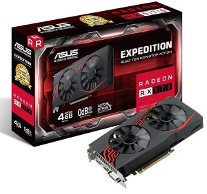 Asus Rx570 Rx 570 Expedition 4GB DDR5 256bit Dx12