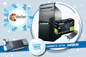 WINTER SALE - GAMING RACUNAR M81 i5 GT 710 2GB GDDR5