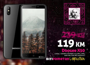 Doogee X50 |1gb+8gb|5+5 Mpx|Android 8.1|Dual sim