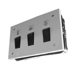 Indikator horizontalni ELID sklopka prekidač