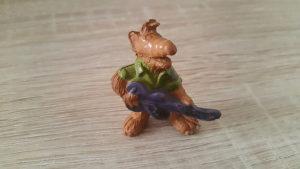 Jako stara gumena figurica Alf dužina 6 cm