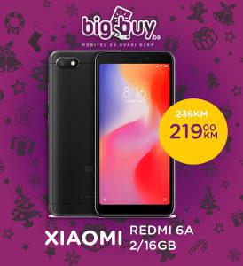 XIAOMI REDMI 6A EU 2GB/16GB - www.BigBuy.ba