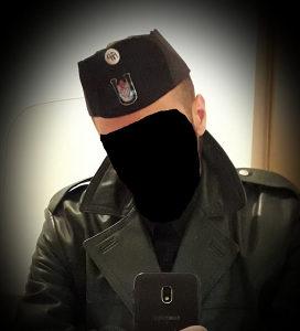 Ustaška kapa NDH Rekvizita WW2