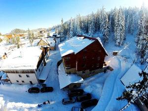 JAHORINA: Hotel Snješko