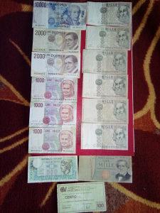 Novcanice Italijanske lire