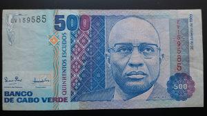 zelenortska Republika 500 eskudosa 1989