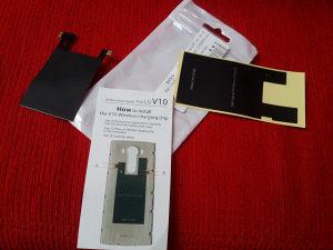 LG V10 naljepnica za wireless punjenje