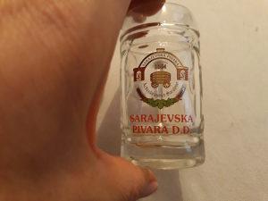 Krigla mala tj čašica vis 7 cm Sarajevska pivara