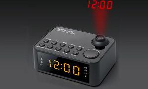 8105760 Muse M-178P Radio projekcioni sat,crni