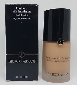 Giorgio Armani Luminous Silk Foundation 7 30ml