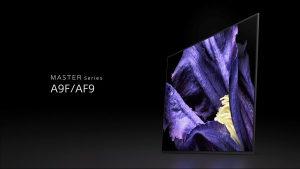 """Sony OLED 4K 55"""" PREMIUM AF9 UHD TV KD55AF9BAEP Android"""