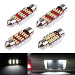 LED sijalice 36mm 39mm 42mm led sijalica za auto CANBUS