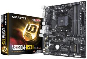Gigabyte AB350M-DS3H V2 AM4 Ryzen
