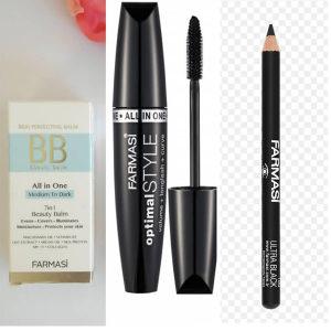 BB krema + maskara i olovka za oči