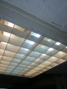 Nadgradne neonke 60x60,lampe