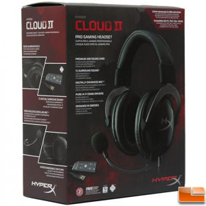 Kingston HyperX Cloud II headset Gun Metal KHX-HSCP-GM