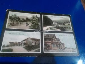 Razglednica Jnselberg 1910 putovala ,USA
