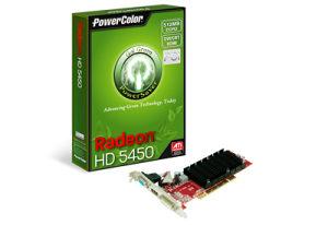 PowerColor grafička kartica Green HD5450 512MB DDR2 PCI