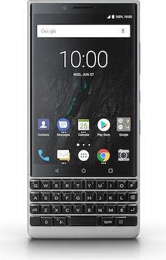 "BlackBerry KEY2 (4.50 "", 64GB, 12MP, silver)"