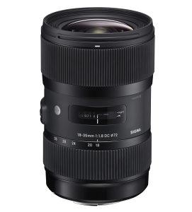Sigma Art 18-35mm f1.8 - Canon