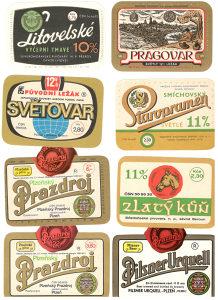Etikete za pivskih flaša