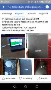 Tablet mobitel