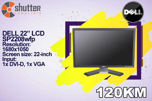 """DELL 22"""" LCD SP2208wfp"""