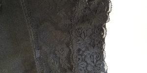 Crop top crni sequins