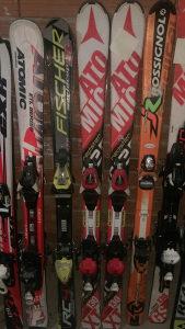 Skije 125-130cm