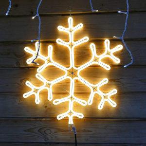 LED pahulja 60cm FLEX NEON - novogodišnja rasvjeta
