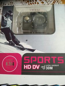 Akciona kamera HD DV sports