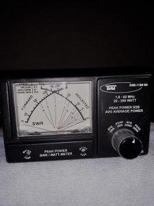 SWER:POWER:METER-1.8-60.MHz 200Wati-SSB-AM-FM