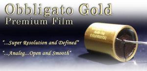 Obbligato Premium Gold MKP blok kondenzatori