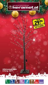 LED drvo smeđe 140cm