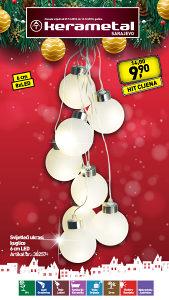 Svijetleći ukrasi  kuglice  6 cm LED