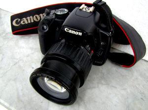 Canon 450D DSLR fotoaparat + Objektiv Canon EF 35-105mm