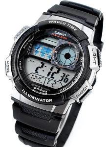 Sat Casio Illuminator World Time AE-1000W-1A