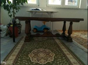 Drveni stol (hrast)