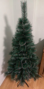 Jelka bor drvce novogodišnje guste grane 90 cm NOVO