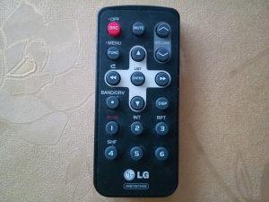 Daljinski LG za AUTO CD MP3