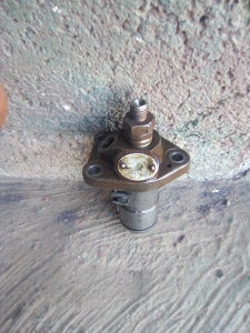 Motokultivator boch pumpa