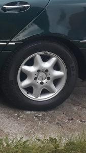 Alu felge 15 Mercedes 2 kom
