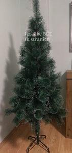 Jelka bor novogodišnje drvce guste grane 180 cm NOVO