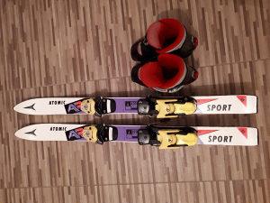 Skije dječije 90 cm sa pancericama