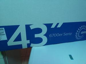 """Tv Philips 43"""" smart"""