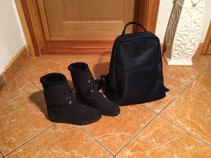 Futrovane kratke cizme