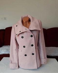 Zenski kaput bebi roza boja