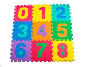 TATAMI DJEČIJE PUZLE x10 Brojevi dječije podovi dječija